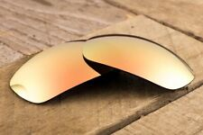 Metallic Peach Bronze Polarized Mirrored Replacement Lenses for Oakley Jawbone