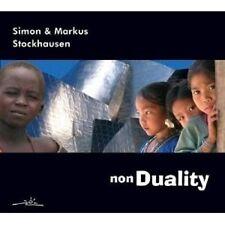 """SIMON & MARKUS STOCKHAUSEN """"NON DUALITY""""  CD -----7 TRACKS----- NEU"""