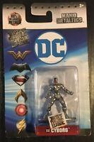 "DC Comics Nano Metalfigs CYBORG 2"" Die-Cast Metal Figure Metalfig"