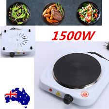 1500W Portable Single Electric Hot Plate Cooker Hotplate Cooktop Stove Caravan