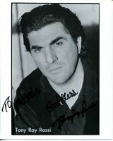 Tony Ray Rossi Find Me Guilty Donnie Brasco The Sopranos Signed Autograph Photo