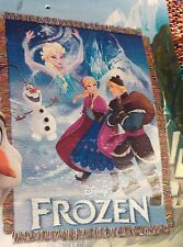 The frozen Woven tapestry throw