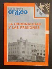 VINTAGE MAGAZINE / PENSAMIENTO CRITICO / PUERTO RICO / MAR / APR 1986 / #48