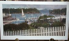 PORT OF CALL  BY CHRISTOPHER BLOSSOM HARBOR ROCHE ISLAND SAN JUAN ISLANDS