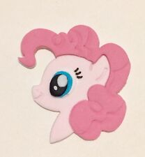Edible Little Pony Pinkie Pie Sugarpaste decoration cake cupcake toppers