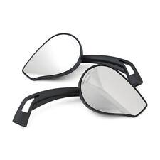 1 Paar Spiegel Phönix 2, Schwarz, für Harley-Davidson mit E-Prüfzeichen