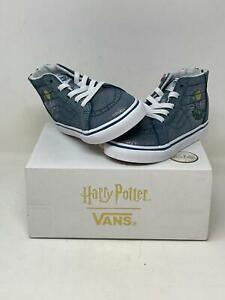 Vans Sk8-Hi Zip Harry Potter Hogwarts VNOA4BV1V3R Toddler Size 8.5 NEW WB