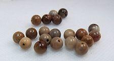 "Pack of 20 Natural Gemstone Beads ""Round"" 6 mm"