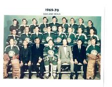 1969 1970 OAKLAND SEALS  8X10 TEAM PHOTO HOCKEY NHL