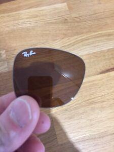RB 2140 Rayban 50-22–150 New Brown Glass Original Lenses