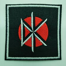 """DEAD KENNEDDYS Embroidered Iron On Patch 3 """"  BAND"""