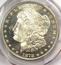 1878-S Morgan Silver Dollar $1 Coin - PCGS MS65 PL (Prooflike) - Near DMPL!