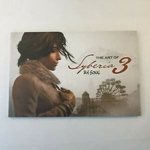 Syberia 3 Artbook The Art of Sokal Collector's Edition PS4 Nintendo Switch Xbox