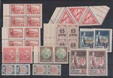 LATVIA SELECTION OF 27 stamps MNH