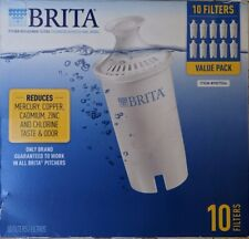 10-Pack Brita Pitcher Replacement Water Purification Filters Brand New sealed