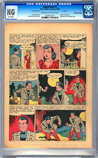 SUPERMAN #1 CGC 0.0 -NG- 26TH PAGE ONLY *ORIG 1ST PRINT ISSUE SUPERMAN #1* 1939