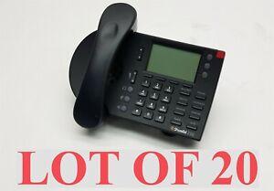 ShoreTel 230 IP 230G VoIP 3 Line Office Business Black Desktop Phone LOT 20