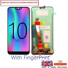 Huawei Honor 10 Complete LCD Display Screen + Digitizer + Finger Print Sensor UK