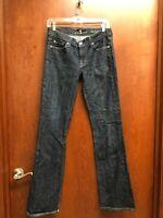 7 Seven for all Mankind Jeans Size 28 Women Blue Denim Dark Wash Modern Boot Cut