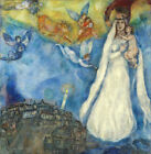 """30W""""x30H"""" MADONNA OF THE VILLAGE by MARC CHAGALL - MARY JESUS CHOICES of CANVAS"""