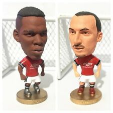 2pcs. Paul Pogba & Zlatan Ibrahimovic Action Figures Manchester United TWIN PACK