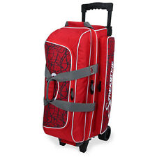Storm 3 Ball Streamline Roller Bowling Bag with Wheels Color Red Crackle/Red NEW