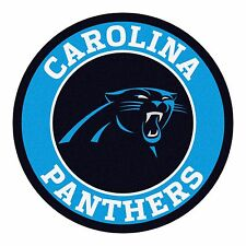 "Carolina Panthers 27"" Roundel Area Rug Floor Mat"
