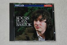 Kocsis Plays Bartok (CD, 1986, Denon)  MADE IN JAPAN