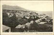 Basse-Terre Guadeloupe View of Village c1915 Postcard
