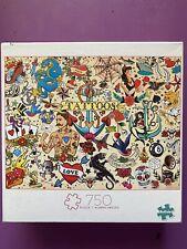 Buffalo Puzzles 750 Piece Tattoo Flash