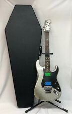 Charvel 2014 So CAL Guitar Electric Six Silver Sparkle W/ Coffin Case with keys