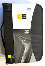 Case Logic CD/DVD 100 Capacity Classic CD/DVD Wallet Black (92+8)