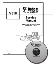 Bobcat V518 VersaHANDLER Workshop Repair Service Manual CD + Download 6902756