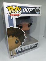 Funko Pop! Vinyl Bond 007 Eve Moneypenny Figure #695 NEW