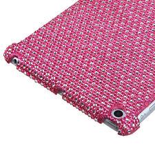 Apple iPad Mini - BLING RHINESTONE HARD PROTECTOR SKIN CASE COVER PINK DIAMOND
