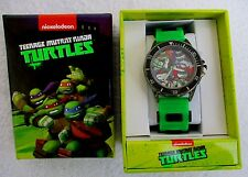 TEENAGE MUTANT NINGA TURTLES..BULLET BAND..UNISEX..WATCH..NEW IN BOX