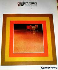 Armstrong Cork VINYL CORLON ASBESTOS Tile Flooring 1970