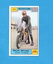 CAMPIONI SPORT 1969-70-PANINI-Figurina n.253- BRYANS -IRLANDA N-MOTOCICLISMO-Rec