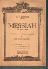Messiah an Oratorio Sheet Music