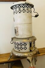 Antique Perfection OIL Heater 3 Legged Stand.  TradeMark 1670 .works Great