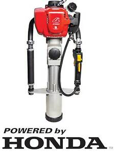 Bullmax Post Driver Honda Powered 4 Stroke Petrol, Fencing Star Post
