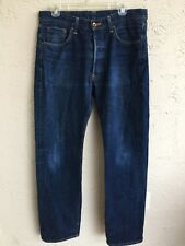 EDWIN GREENVILLE 866B SELVAGE MENS JEANS MADE IN JAPAN SZ 33x34
