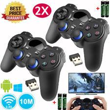 2x For Sony PS3 2.4G Wireless Twin Shock Game Controller Joystick Joypad US
