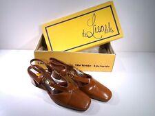 Life Stride Vintage New 7.5 3A 70s 745L72 Embrace de Liso debs heels pumps shoes