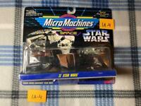 * VTG * NIB * NOS * Star Wars 65860 Micro Machines Space II (2) Star Wars 1A-4