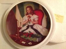 Meg by Elaine Gignilliat Little Women Louisa Alcott Danbury Mint 23kt Gold Rim