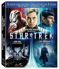 Star Trek Trilogy 3 Movie Collection (Blu-ray & Digial HD) Into Darkness Beyond