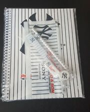 RARE! NY Yankees notebook,pencil,pouch, + more w/PC Richard & Son and Sony ads