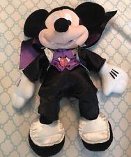 Genuine Disney Collection plush Mickey Mouse Vampire Halloween