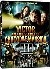 NEW  DVD - VICTOR AND THE SECRET OF CROCODILE MANSIOIN - KRISTO FERKIC